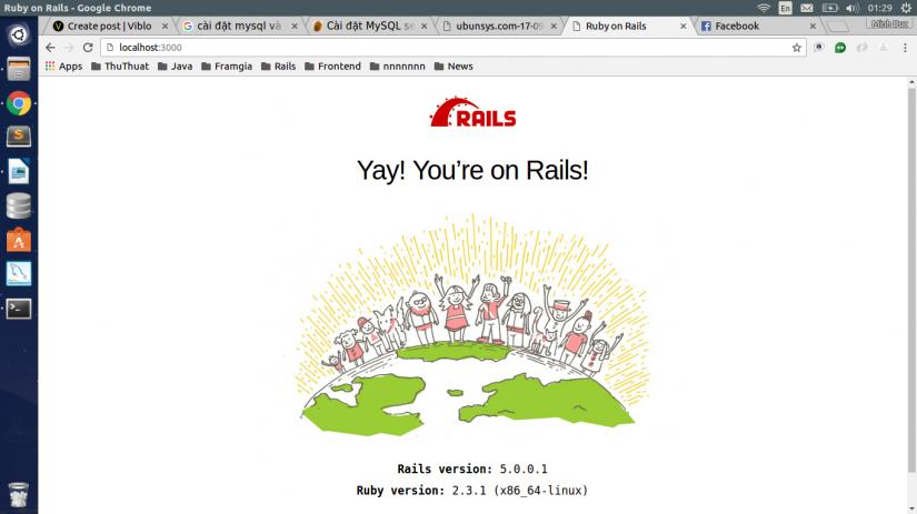 rails version